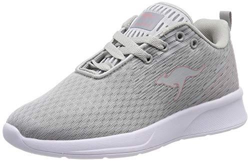 KangaROOS Unisex-Erwachsene KangaFOAM Adult ACT Sneaker, Grau (Vapor Grey/Dusty Rose 2075), 39 EU