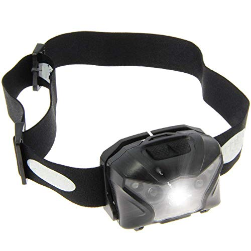 g8ds® XPR Kopflampe Cree LED Rotes und Weißes Licht Hell Angeln Karpfen Outdoor Camping Dunkel