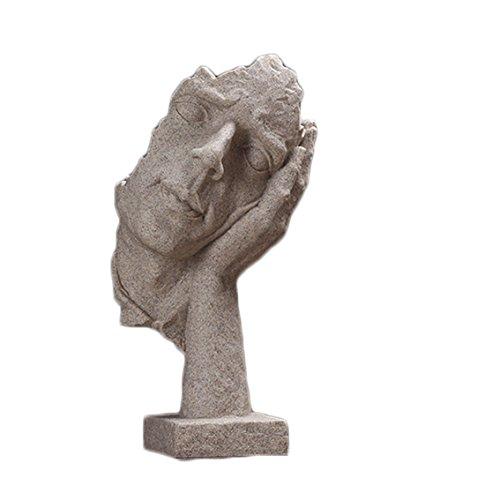 SUNGL Ornament Schreibtisch Harz Traurig Moderne Unterhaltsame Dekor Skulptur Couchtisch Home Office