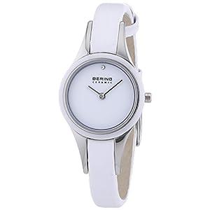 BERING Damen-Armbanduhr Analog Quarz Leder 33125-654