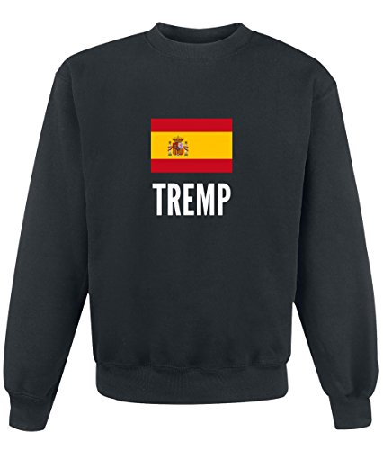 Felpa Tremp city Black