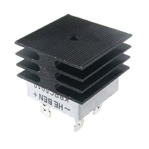 Amico 50A 1000V Metal Case pont redresseur avec le radiateur KBPC5010