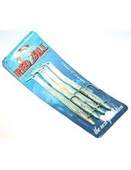 Red Gill Evolution 115mm–4G–, 4unidades, Natural Mackerel