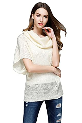 ICOCOPRO - Pull - Femme - blanc - Small