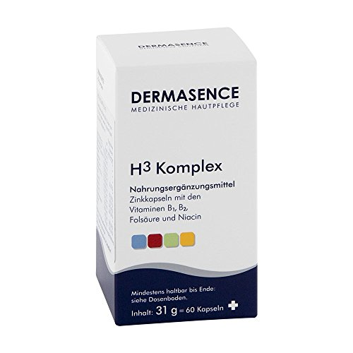 Komplex 60 Kapseln (Dermasence H3 Komplex Kapseln 60 stk)