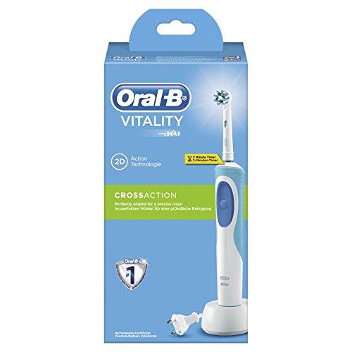 Oral-B Vitality CrossAction Braun Spazzolino Elettrico Ricaricabile