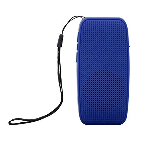 SO-buts Y-6 Bluetooth Lautsprecher, Drahtlose Bluetooth Stereoanlage Lautsprecher, Unterstützungs TF Karte, USB, U Diskette,für JBL Pulse3 Portable Wireles (Blau) Go Portable Ipod