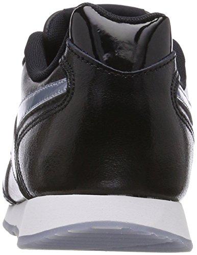 Reebok Damen Royal Glide Sneaker Schwarz (Black/Frostbite Metallic/White)