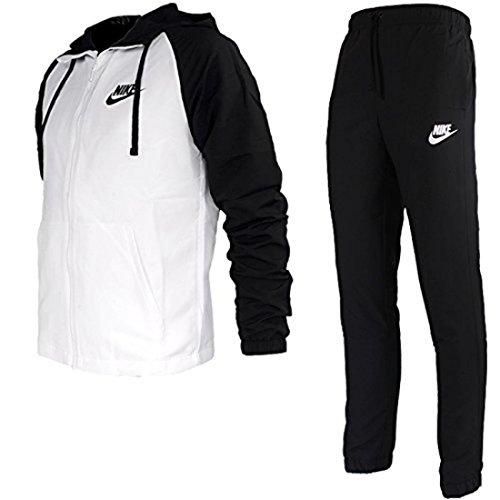 Nike 861772, Completo Uomo Bianco