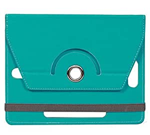 Cyan Stylabs Tablet Book Flip Case Cover For iBerry Bt10 (Universal)