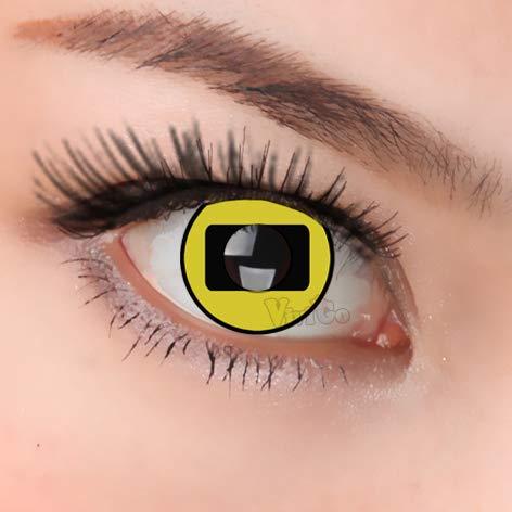 Naruto Kontaktlinsen - Farbige Kontaktlinsen Circle Lenses Farblinsen für
