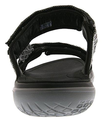 Teva Terra-float Slide M's Herren Sport- & Outdoor Sandalen Silber (Charcoal Black 485)