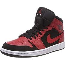 sale retailer 7ac1a 72831 NIKE Air Jordan 1 Mid, Scarpe da Basket Uomo