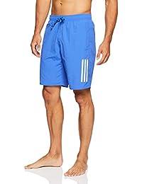 Adidas 3Stripes Climalite Bañador, Hombre, DJ2154, Hi-Res Blue/Cloud White, XX-Large