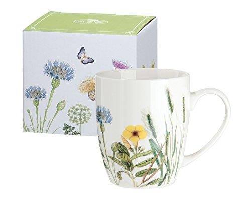 Gilde Gallery tasse de porcelaine - Wildflowers - fleurs - conception de papillon