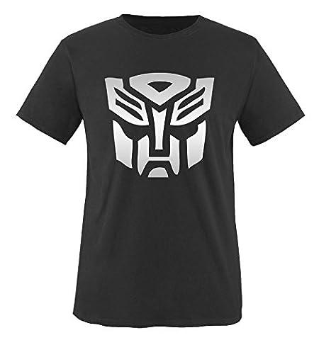 TRANSFORMERS - Herren T-Shirt in Schwarz / Silber Gr. S