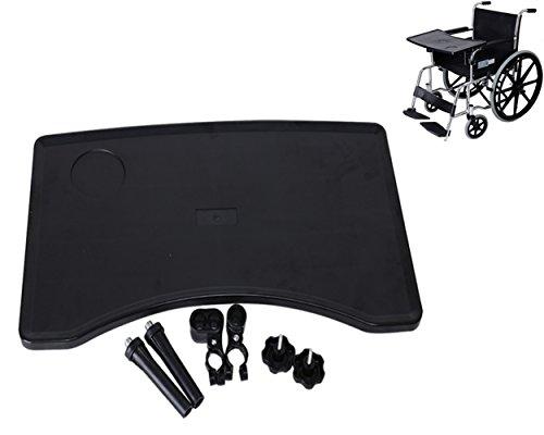 MEYLEE Abnehmbarer Rollstuhl-Behälter, ABS-Plastikrollstuhl-Schoß-Behälter Für Rollstühle Und Hauptstühle