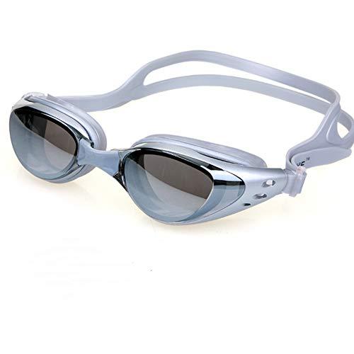 ZhaoZC Schwimmbrille Anti-Fog und Anti-Uv Belt Free Schutzhülle für Männer und Frauen Jugend wasserdicht Sonnenschutz,E (Nike Sonnenbrillen Jugend)