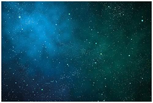 Wallario selbstklebendes Poster - Sternenhimmel - Milchstraße und Sterne bei Nacht in Premiumqualität, Größe: 61 x 91,5 cm (Maxiposter) -