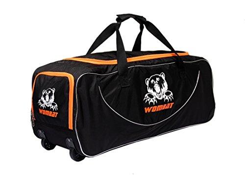 Wombat Cricket Polyester Kit Bag With Wheel Junior Wheelie Bag