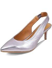 tresmode Womens Pumps with Kitten Heels