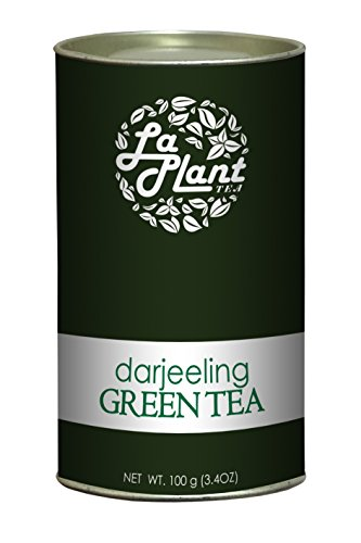 Laplant Darjeeling Green Tea, Long Leaf - 100 Gm