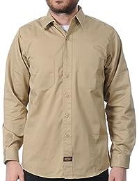 Camisa de trabajo Jesse James Heavy Duty Beige-Sand
