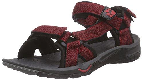 Jack Wolfskin Herren Lakewood Ride Sandal M Sport-& Outdoor Rot (indian red 2210)