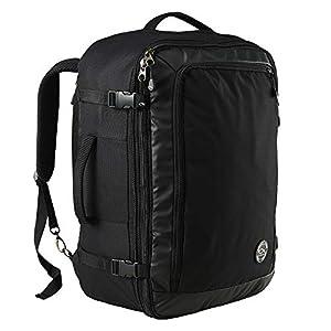 CX Luggage ZG1 – Mochila Expandible con Bolsillo para los Artículos Esenciales de Viaje 55x40x20 cm