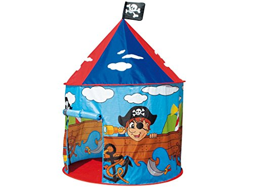 TEOREMA Cortina Juegos para niños de Interior/Exterior Piratas Turquesa