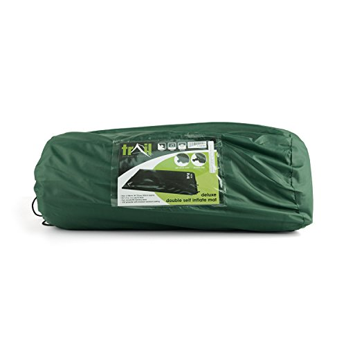 Double Self Inflating Camping Mat Inflatable Roll Mattress Bed Extra Thick 5cm