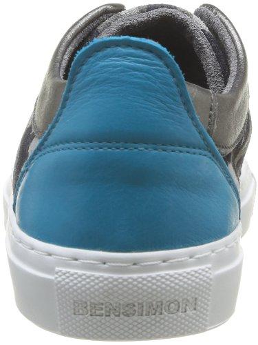 Bensimon Flexys Camocolor, Baskets mode femme Bleu (Bleu 532)