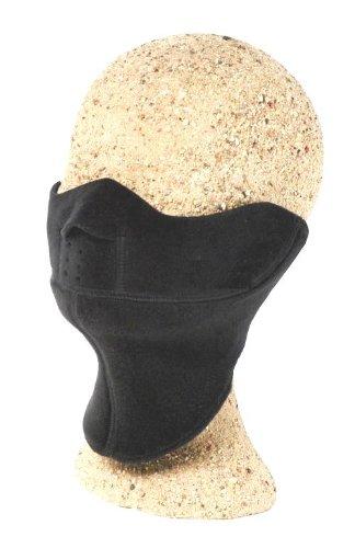 Kanfor ' Profimaske Snowboard Face Maske LAVO Polartec Windbloc Gr. L/XL schwarz