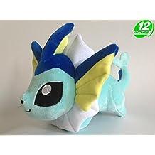 Pokemon Peluche Vaporeon/Aquana/Aquali Chibi 30cm