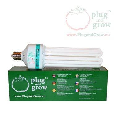 Plug and Grow 200w 2700k Blüte ESL Energiesparlampe von HORTOSOL - Lampenhans.de