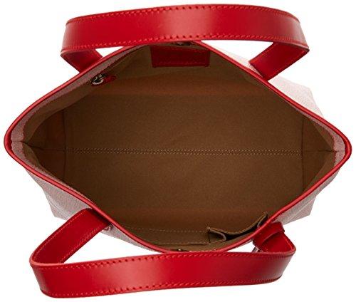 Timberland TB0M2768, Borsa a Spalla Donna, 17x30x31 cm (W x H x L) Rosso (Red)