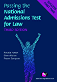 Passing the National Admissions Test for Law (LNAT) (Student Guides to University Entrance Series)