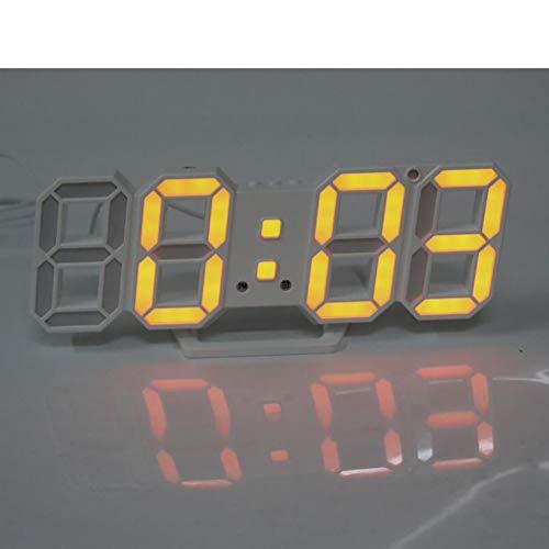 LED 3D Digital Alarma Despertador