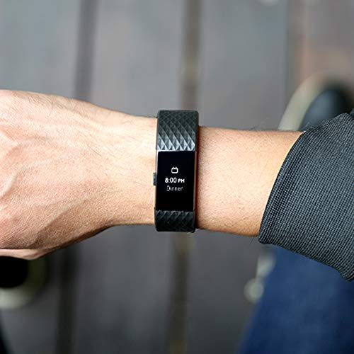 Fitbit Charge 2 Special Edition Armband Schwarz - 5