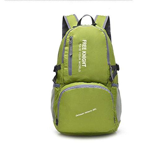 Wmshpeds Ultra - luce maschio e femmina portable borsa a tracolla esterno pieghevole pacchetto pelle alpinismo zaino di viaggio A