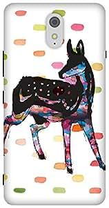 The Racoon Grip printed designer hard back mobile phone case cover for Lenovo Vibe K5. (Oh Deer)
