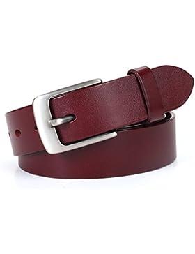 Señoras Retro Pin Hebillas Cinturón,Elegante Ocio Salvaje Cinturón Distribución Jeans Decoración Anchura Cinturón