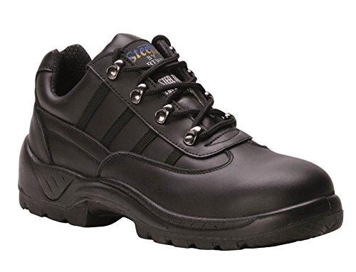 Portwest Fw25 Steelite™ S1P Sicherheitstrainer Männer Schutzschuhe Neue Schuhe Schwarz