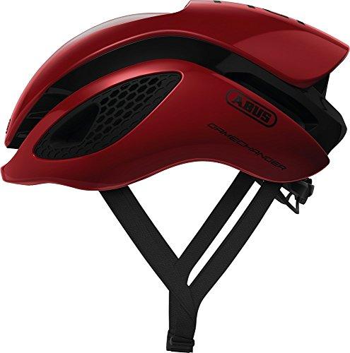 Abus Gamechanger Aero-Helm Fahrradhelm, Blaze red, M