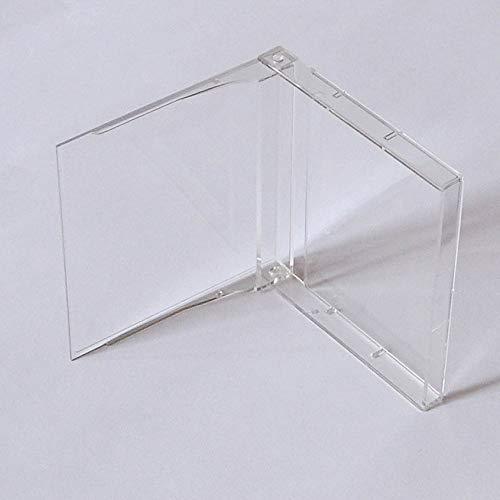 MD MiniDisc Hüllen/Leerhüllen, für MiniDisc-Kassetten, transparent-hochklar (100 Stück)
