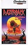 VHS - Videokassette - Razorback - Kampfkoloss der Hölle - 83 min - Constantin Video
