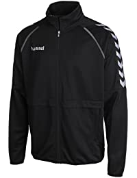 Hummel stay authentic poly veste d'entraînement