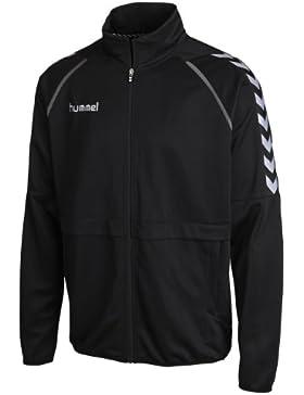 Hummel Unisex Trainingsjacke Stay Authentic Micro, black, 36-409-2001