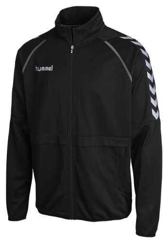 Hummel Unisex Trainingsjacke Stay Authentic Micro, black, M, 36-409-2001