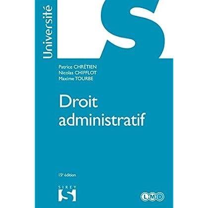 Droit administratif - 15e éd.